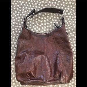 Genuine leather B Makowsky shoulder bag